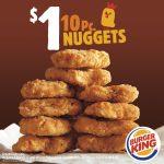 Burger King 10-Pc Nuggets